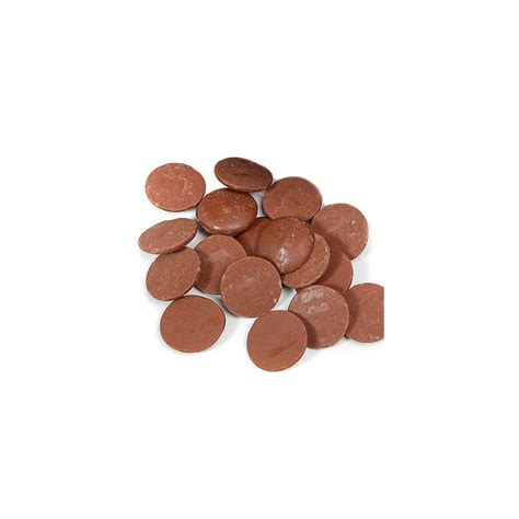 pastilles de chocolat au lait cadeau chocolat d lys couleurs