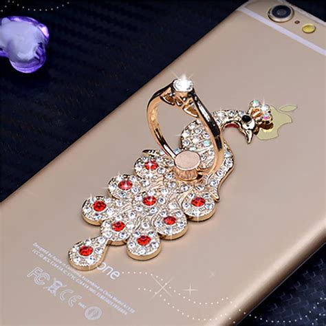 Assorted Ring Phone Stand 1 fashion peacock holder for mobile phones and