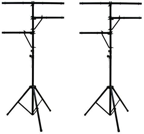 pro audio and lighting 2 pro audio dj multi arm 8 bolt lighting 12 foot tripod