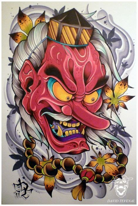 tengu tattoo designs david tevenal tattoos david tevenal