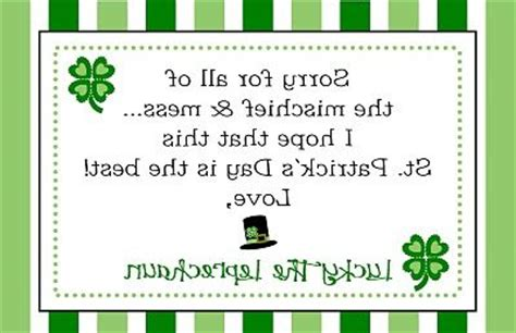 free printable letters from leprechaun pin by angela roe on st patrick s day pinterest