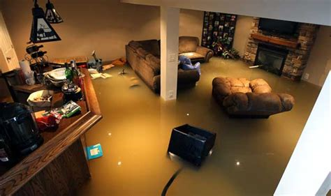 heavy rainfall can cause basement flooding is my home safe