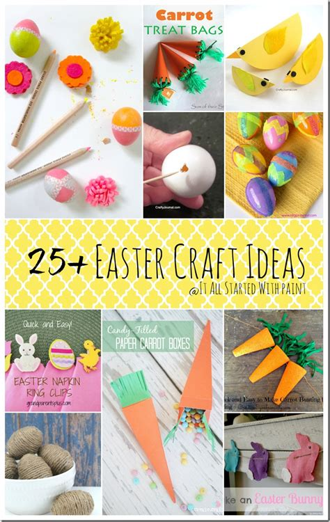 easter craft ideas easter craft ideas it all started with paint
