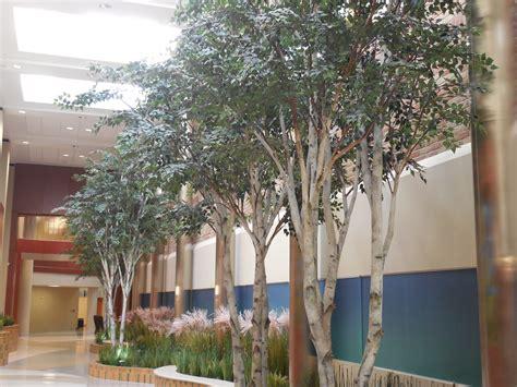 birch trees saint joseph medical center  michigan naturemaker steel art trees