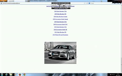 service repair manual free download 2011 audi a4 navigation system audi a4 b8 service manual repair youtube