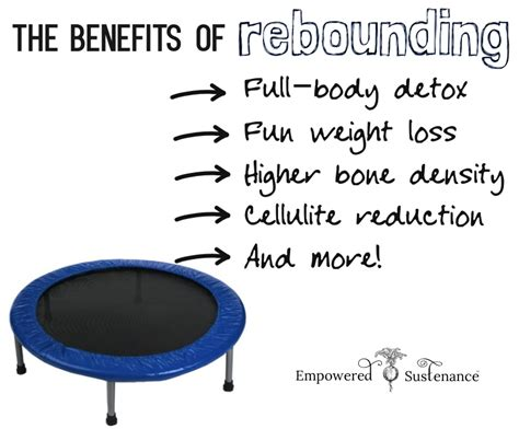 Detox Symptoms From Rebounding by The Benefits Of Rebounding And How To Do It Correctly