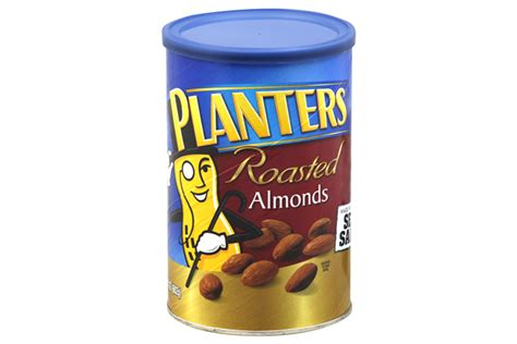 Planters Almonds by Planters 174 Roasted Almonds 21 25 Oz Kraft Recipes