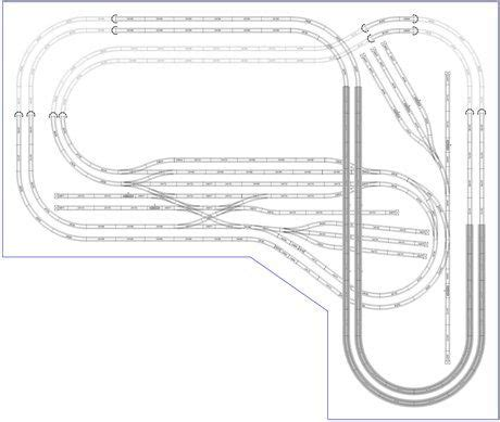 Ho Scale Layout Design Software | model train layouts track plans in ho scale various