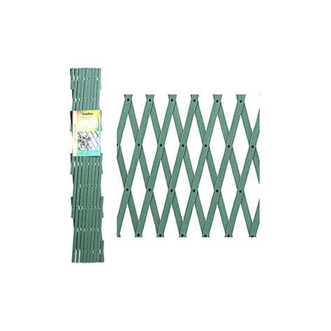 traliccio estensibile traliccio estensibile pvc 2x1mt verde ferramenta e brico