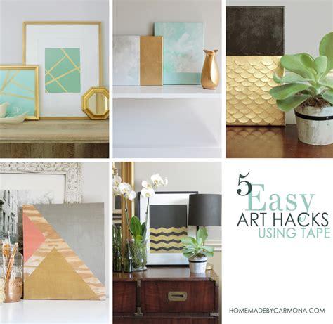 easy hacks 5 easy diy wall hacks using home made by carmona