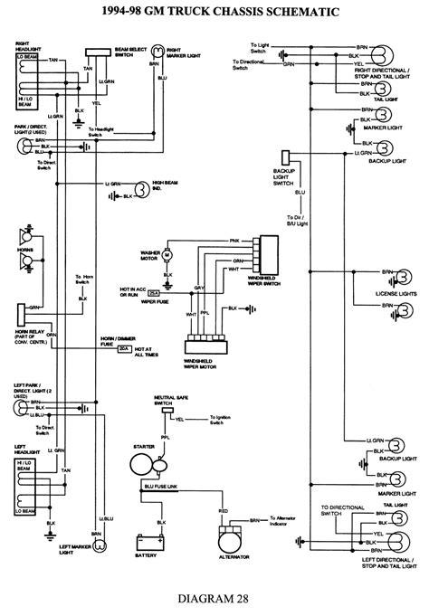 silverado wiring diagram   wiring diagram