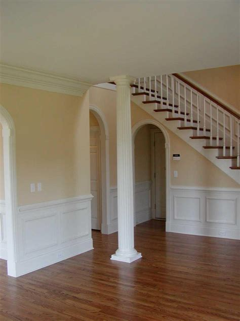 interior columns for homes home gallery