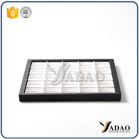 Smartband Y2 Leather Colourful Display different optional simple color size customize display tray with square space mdf leather
