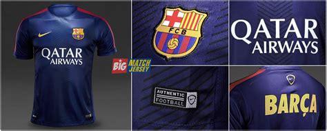 Jersey Grade Ori Pre Match Barcelona Yellow jersey pre match barcelona blue 2014 2015 big match