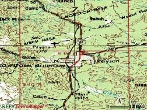 payson arizona map payson az map recordingstudiomenu