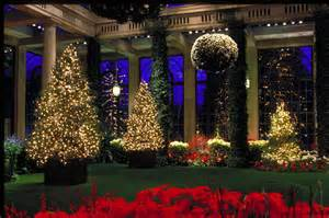 Christmas Outdoor Topiary Trees - it s a wonderful mix five daytrips to celebrate the holidays not far by car pennlive com