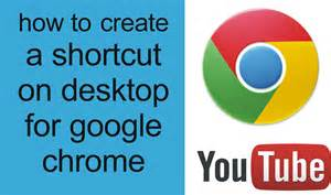 how to get a desk how to make a shortcut on desktop for chrome