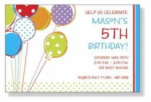 birthday invitation gangcraft net