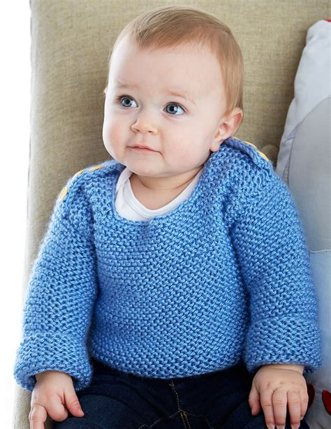knitting pattern sweater child garter stitch little one knitting patterns in the loop