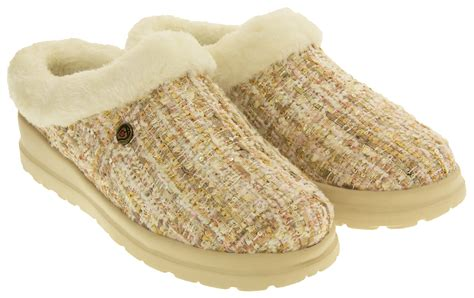 bobs slippers from skechers skechers bobs cherish low back memory foam mule