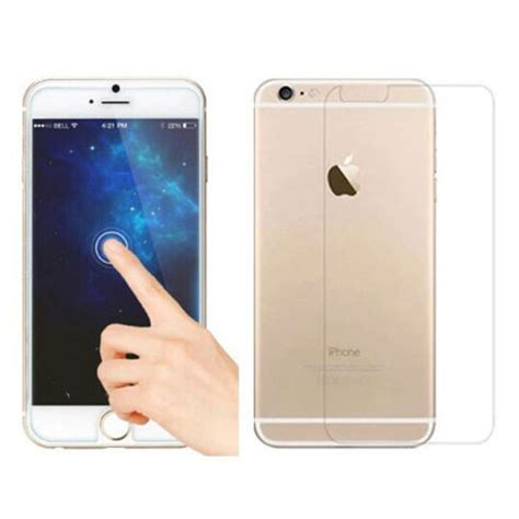 Tempered Glass All Brand T1310 4 brand 9h hardness premium front back clear tempered glass protective screen protector