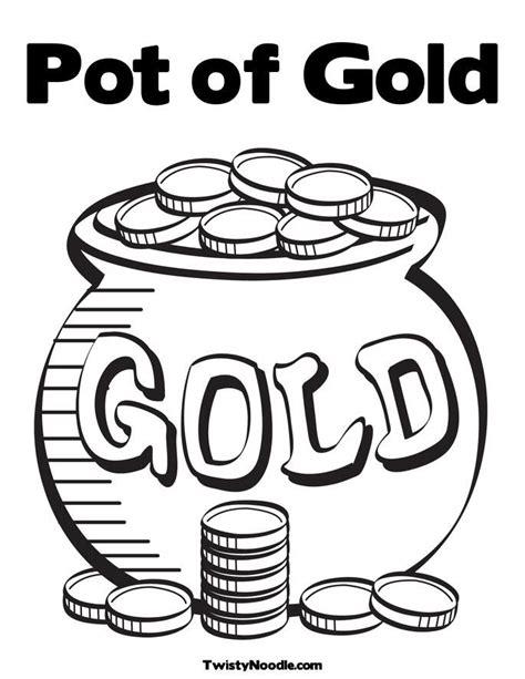 pot of gold coloring page pot of gold coloring pages az coloring pages