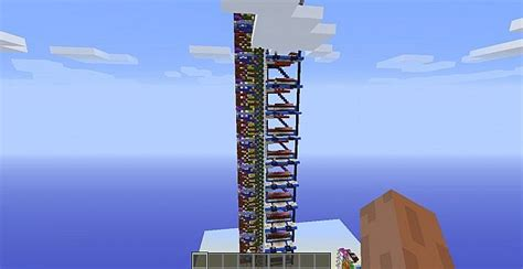 100 floor challenge level 17 14 floor elevator minecraft project