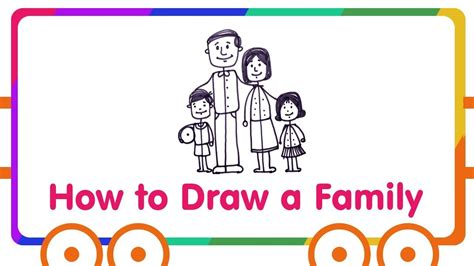 Drawing 6 Hours A Day by Family Drawing For How To Draw Happy Family
