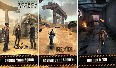 maze runner game mod apk maze runner the scorch trials 1 0 13 apk mod data android