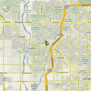 map of sun city arizona arizona golf golf courses scottsdale golf