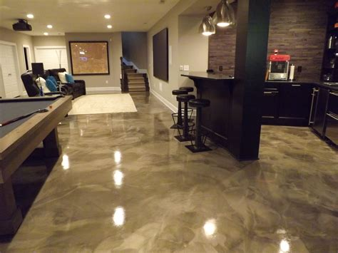 Ideas For Kitchen Paint Colors by Metallic Epoxy Flooring Pcc Columbus Ohio