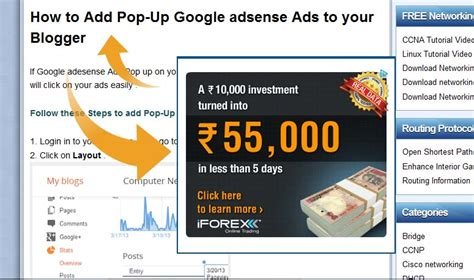 fb ads to adsense does google allow adsense pop up ads