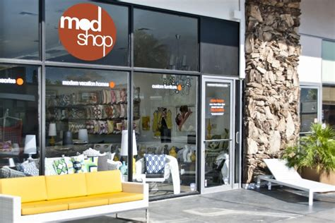 modern furniture store in palm springs