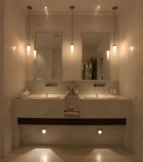 107 Best Images About Bathroom Lighting On Pinterest Light Bathrooms