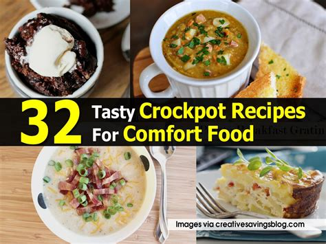 crockpot comfort food 32 tasty crockpot recipes for comfort food