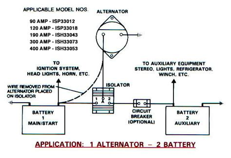 powerline alternator wiring diagram wiring diagram with