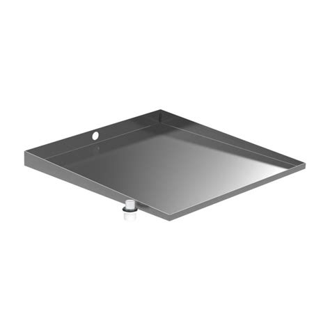 Washer Floor Tray by 30 In X 32 In Stainless Front Load Washer Floor Tray