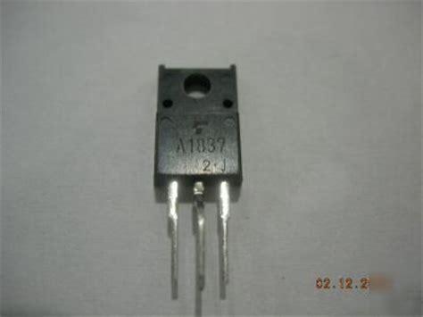 transistor a1837 equivalente a1837 transistor
