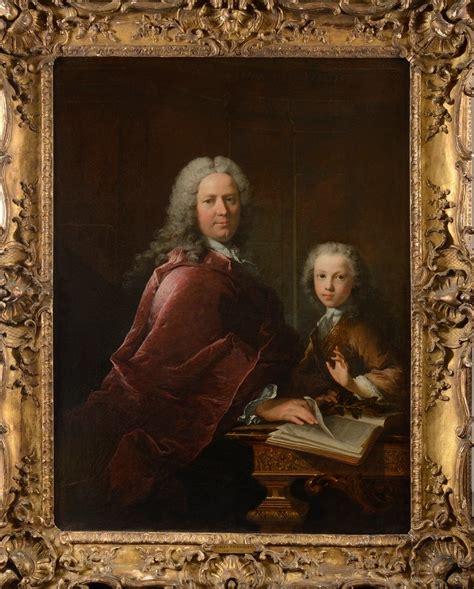 Cabinet Gentilhomme by Portrait D Un Gentilhomme Avec Fils Dans Un Cabinet Et