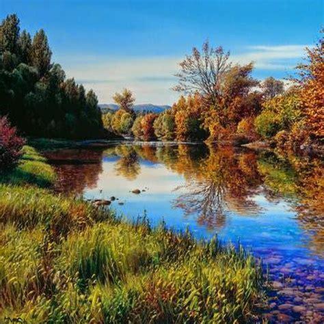 fotos de paisajes espectaculares im 225 genes arte pinturas paisajes espectaculares en