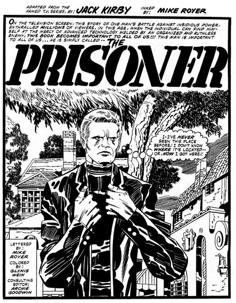 the prisoner kirby gil edition kirby s lost incomplete quot the prisoner quot comic