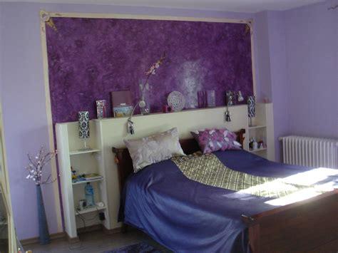 Peinture Stucco Chambre A Coucher by Cuisine Peinture Chambre Fille Mauve Paihhi Incroyable