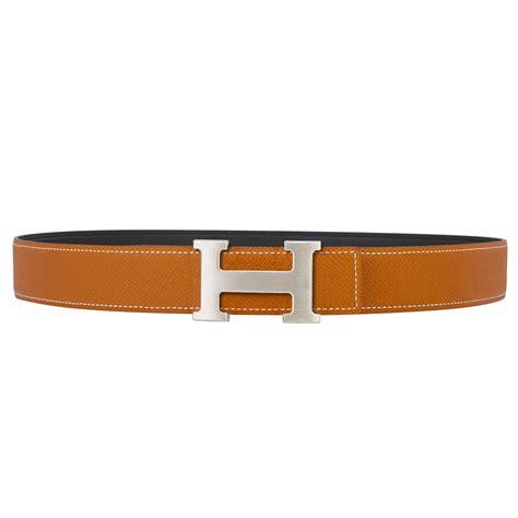 hermes 32mm reversible gold black constance h belt brushed silver buckle 85 cm world s best