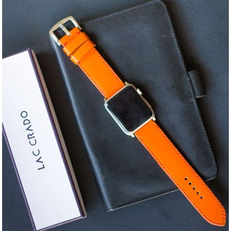 apple watch commercial actress orange dress quot orange hermes color quot handmade genuine leather strap