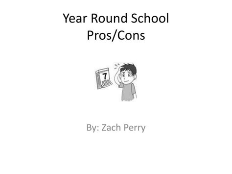 Pros And Cons Of One Year Mba by Ppt Year School Pros Cons Powerpoint Presentation