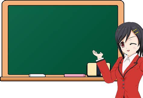 cartoon chalkboard education  vector graphic  pixabay