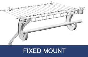 Closetmaid Fixed Mount Closetmaid Fixed Mount Installation 28 Images Shop