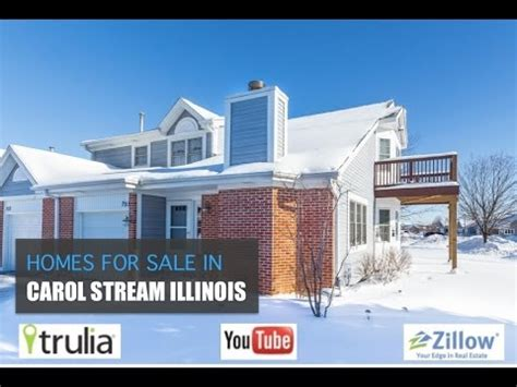 house for sale in carol stream homes for sale in carol stream illinois youtube