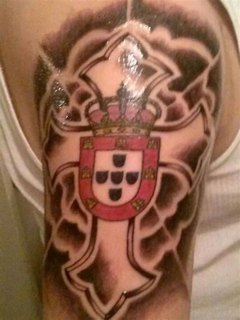 portuguese cross tattoo portuguese pride cool stuff portuguese