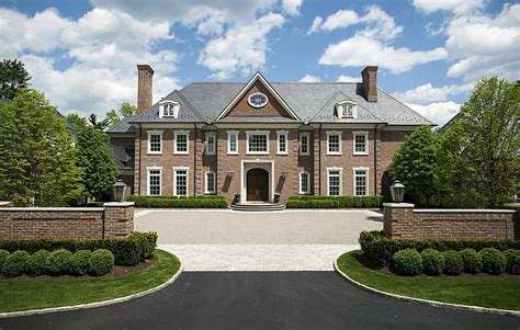 17 million colonial mansion in greenwich ct homes of 17 25 million newly listed georgian colonial mansion in